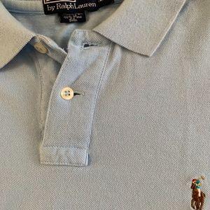 Mens Polo Ralph Lauren Polo Shirt XL Blue